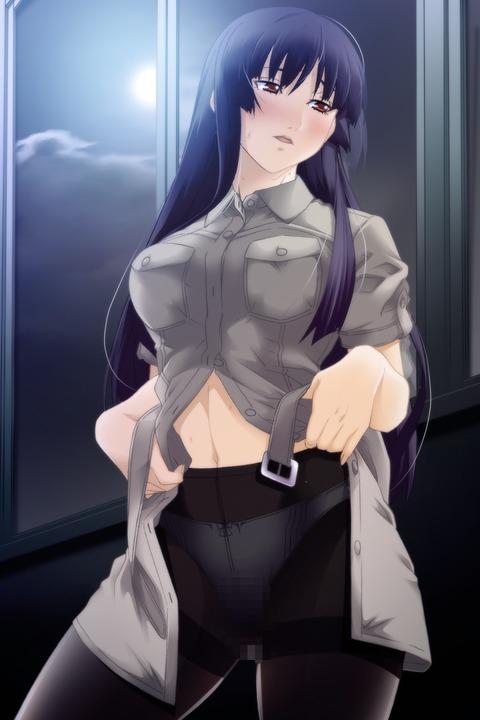 10e761ac s - 【二次】エッチに見えるストッキング履いた美少女のエロいイラスト:その7