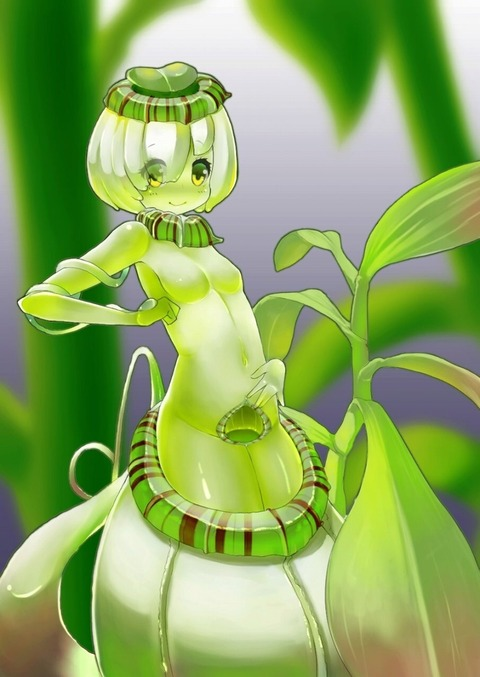 92f331a6 s - 【モンスター娘】アルラウネちゃん(植物の妖精)の二次エロ画像