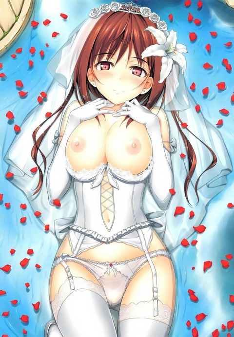 hentai_wedding dress55