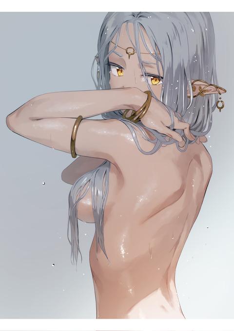 972a21a3 s - 【二次】褐色肌でナイスバディでエチエチな美少女エロ画像