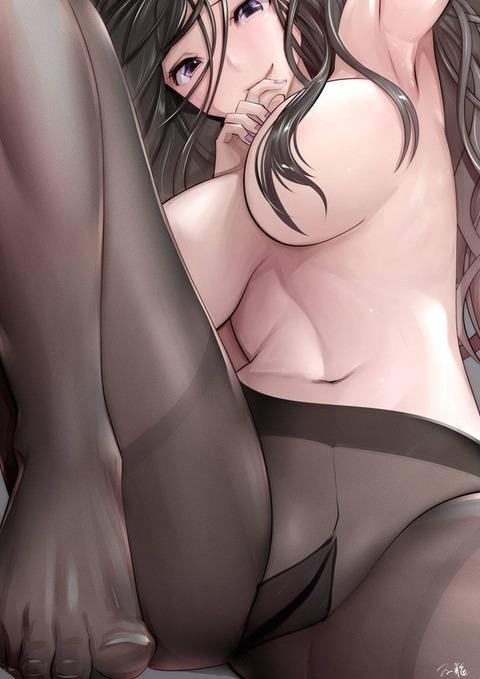 b2dc7bc1 s - 【二次】エッチに見えるストッキング履いた美少女のエロいイラスト:その6