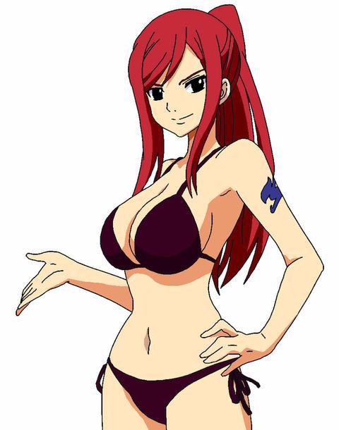 b2f733f7 s - 【二次】Erza Scarlet Dragon Cryちゃんのエロ画像:<Fairy Tail>