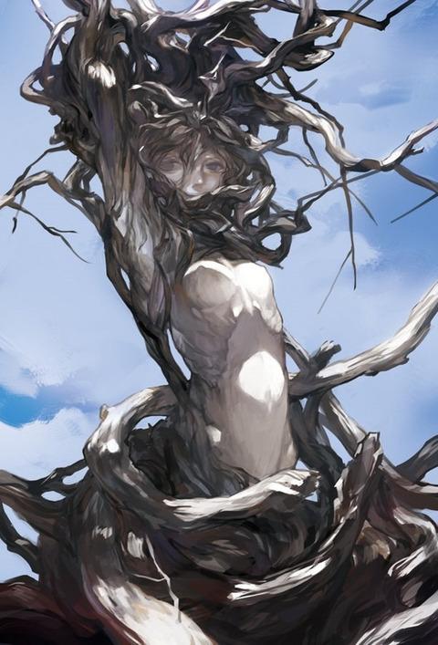 b5744aea s - 【モンスター娘】アルラウネちゃん(植物の妖精)の二次エロ画像