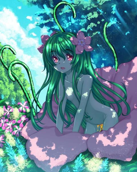 ba519333 s - 【モンスター娘】アルラウネちゃん(植物の妖精)の二次エロ画像