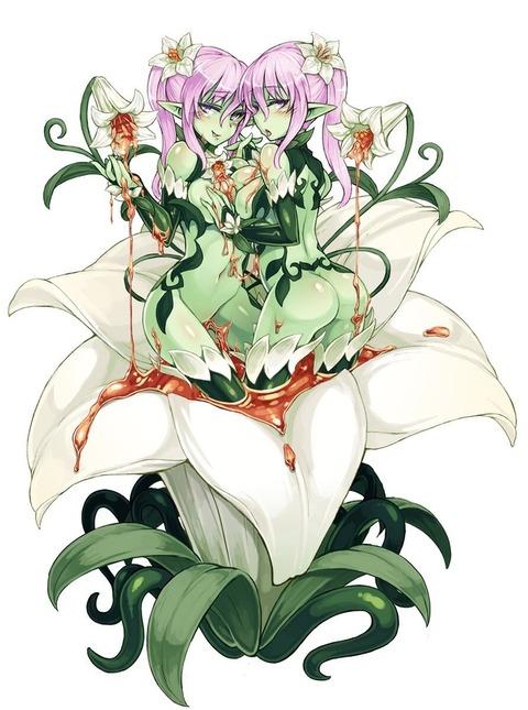 c1fd6e30 s - 【モンスター娘】アルラウネちゃん(植物の妖精)の二次エロ画像