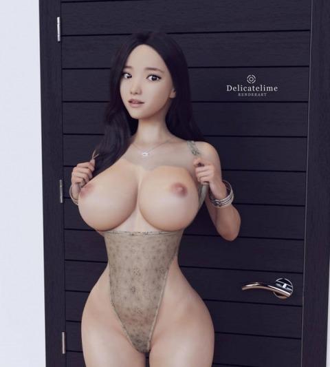 d1041324 s - 【2次】3DCGでできた超絶美少女のエロイラスト集めてみたw:その8
