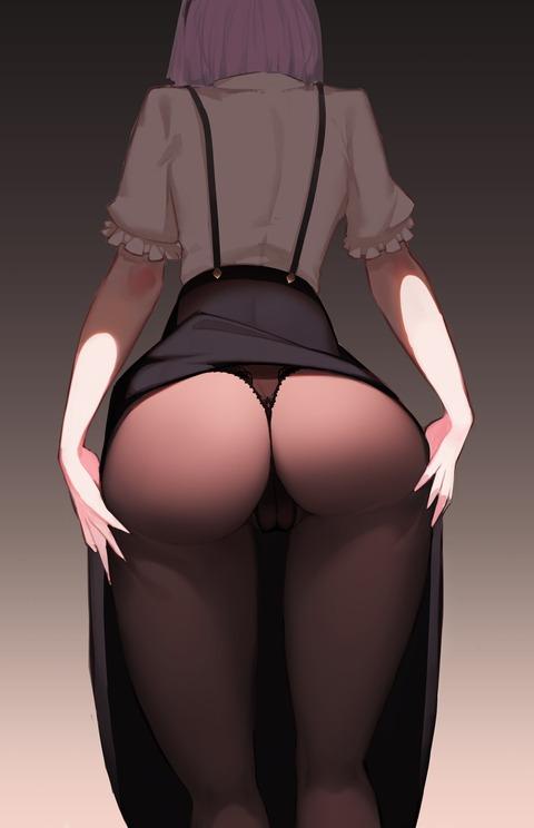 d5c17d48 s - 【二次】エッチに見えるストッキング履いた美少女のエロいイラスト:その18