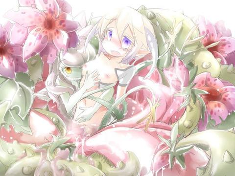 fe24461d s - 【モンスター娘】アルラウネちゃん(植物の妖精)の二次エロ画像