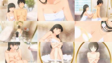 (お風呂 二次画像)お風呂でえっちなこととかしている女の子のエロ画像35