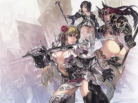 気高く美しい女騎士8