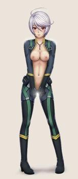 2e908ffe s - 宇宙戦艦ヤマトの女の子キャラの二次エロ画像まとめ(岬百合亜、西条未来、山本玲、メルダ・ディッツ)