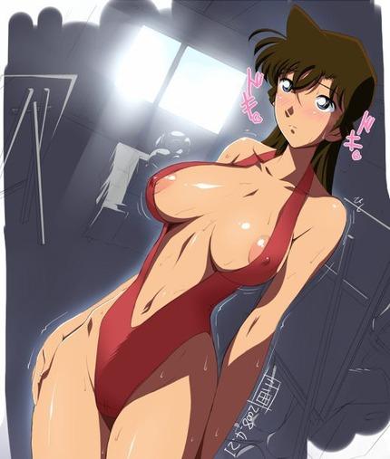 3814ea2b s - アニメ:「名探偵 コナン」  蘭たちのエロ画像まとめ:二次元