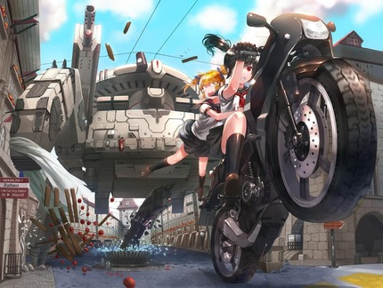3826e1b3 s - (エロあり)バイク系女子の画像まとめ