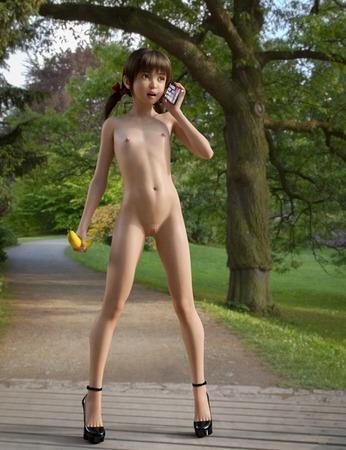 3b11178c s - 【2次】この美少女はCGか?人間か?実写のようなクオリティの3Dイラスト:その3
