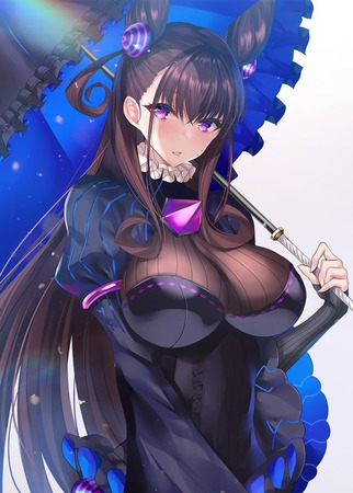 445c2aed s - 【Fate/Grand Order】紫式部さんの二次エロ画像:剥ぎコラ