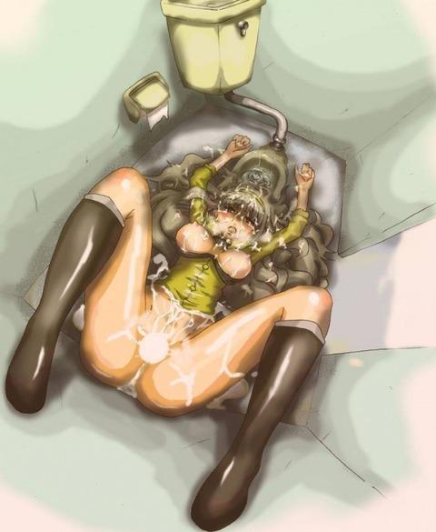 トイレでエロいことしてる画像  |PON×2 二次エロ画像|