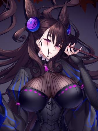 4c7977cf s - 【Fate/Grand Order】紫式部さんの二次エロ画像:剥ぎコラ