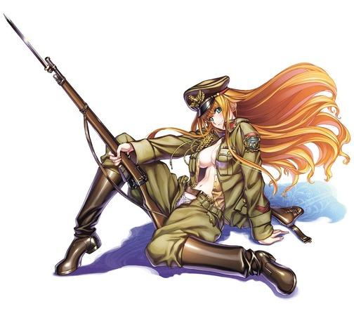 コスプレ:軍服着た二次の女の子が可愛くて、かっこよくてさ。