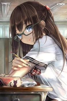 眼鏡っ娘134