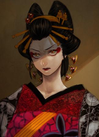 72764406 s - 【鬼滅の刃】花魁、堕姫(上弦の陸)のエロ画像