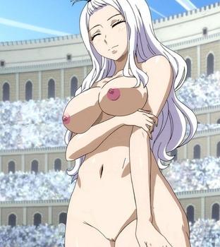 アニメ:「フェアリーテイル」ミラさんことミラジェーン・ストラウスのえっろい体してるにじエロ画像