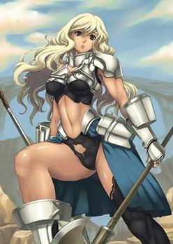 気高く美しい女騎士20