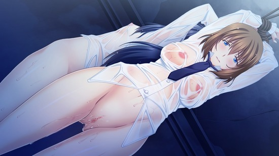 濡れた制服 nure seihuku12