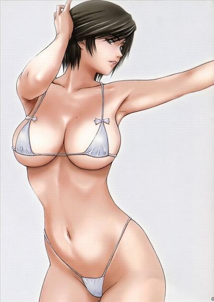 大人っぽい女の二次エロ画像だけど・・・(02)