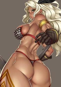 気高く美しい女騎士18