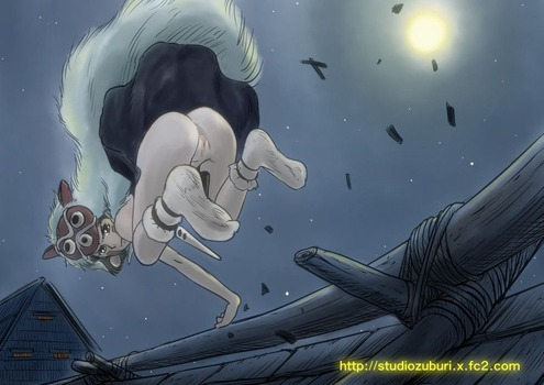アニメ ジブリ もののけ姫 サン pic45