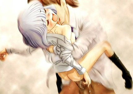抱え込んでユッサ×2と駅弁ファックされてる女の子(02)