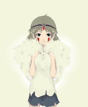 アニメ ジブリ もののけ姫 サン pic18