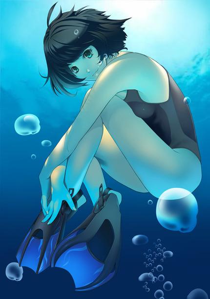 水着:競泳水着、スク水の女の子画像がたまりません!263