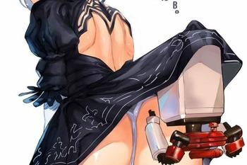a5e196bd s - NieR:Automata-ニーアオートマタ-の2Bちゃんのエロ画像まとめ:二次