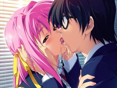 adb51a4b s - エッチにキスしてるかわいい画像