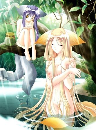 af076f55 s - 憧れの女の子が水浴びしてるとこのエロ画像:にじ