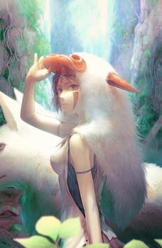 アニメ ジブリ もののけ姫 サン pic41
