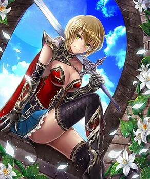 気高く美しい女騎士11