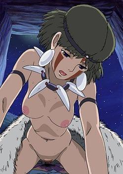 アニメ ジブリ もののけ姫 サン pic29
