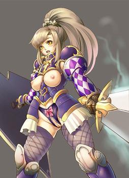 気高く美しい女騎士13