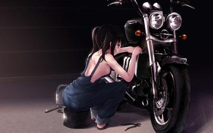 c63513bd s - (エロあり)バイク系女子の画像まとめ