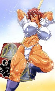 d06021f1 s - 筋肉質の引き締まったボディの美少女エロ画像まとめ|二次|