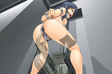 機械姦 マシーン 拘束 機械 バイブ ディルド_二次エロ画像60