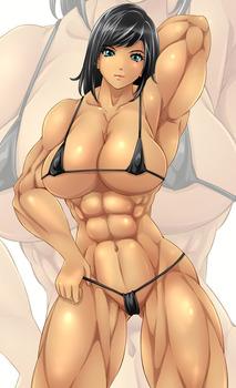 d8b1a882 s - 筋肉質の引き締まったボディの美少女エロ画像まとめ|二次|