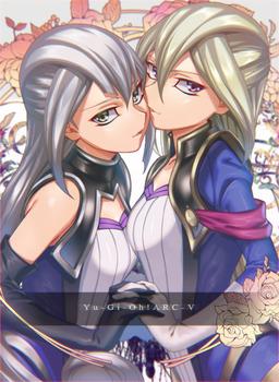 f2c3940f s - 遊戯王ARC-V:タイラー姉妹(グレース&グロリア)のエロ画像まとめ