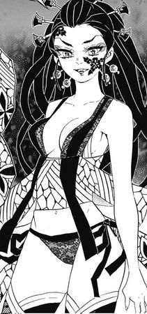 f344aee3 s - 【鬼滅の刃】花魁、堕姫(上弦の陸)のエロ画像