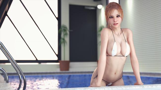f64c2a1d s - 【2次】この美少女はCGか?人間か?実写のようなクオリティの3Dイラスト:その3
