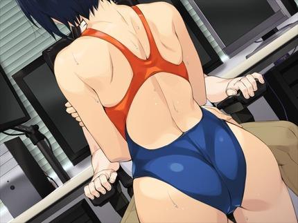 水着:競泳水着、スク水の女の子画像がたまりません!104