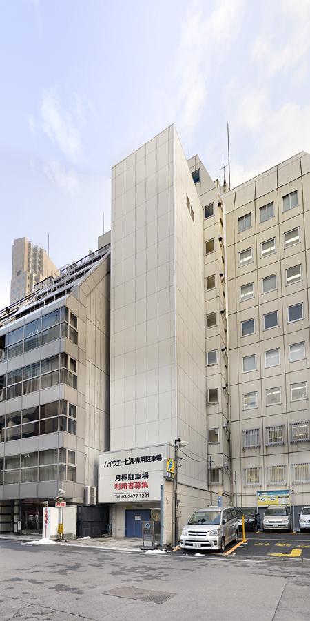 渋谷立体駐車場