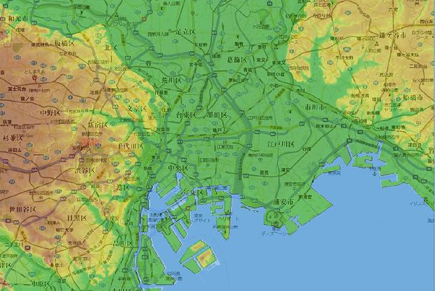 地形と地図